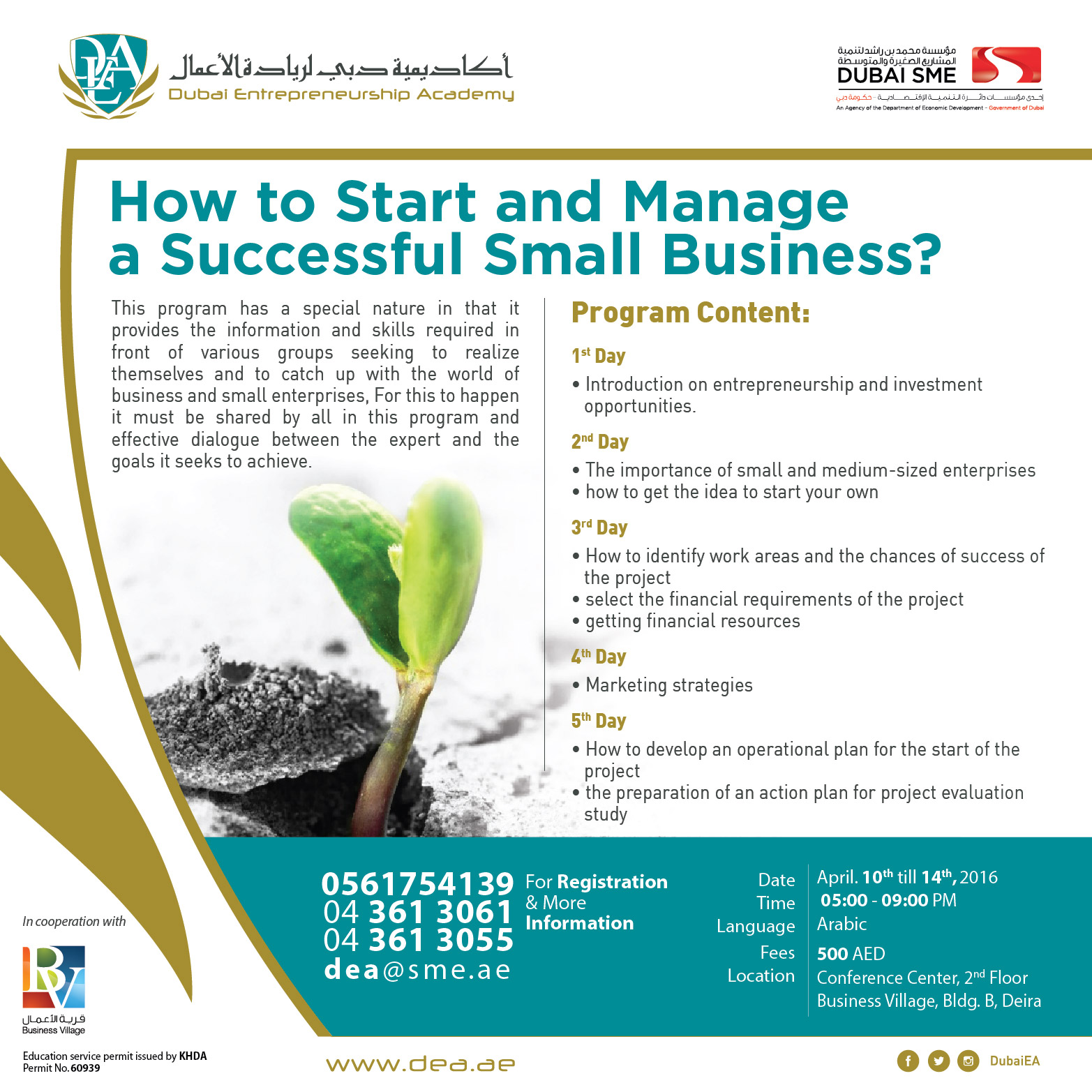 How to start and manage a successful small business?